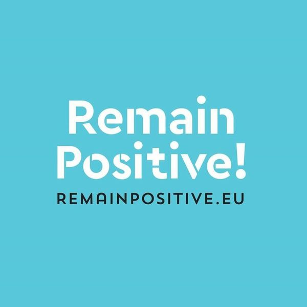 Remain Positive logo
